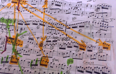 A notated musical score